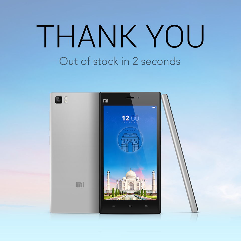The Upcoming Sale Is Scheduled On August 12th And Xiaomi Will Be Putting 20000 Units Of Mi3 For Flipkart Had Revealed That More Than
