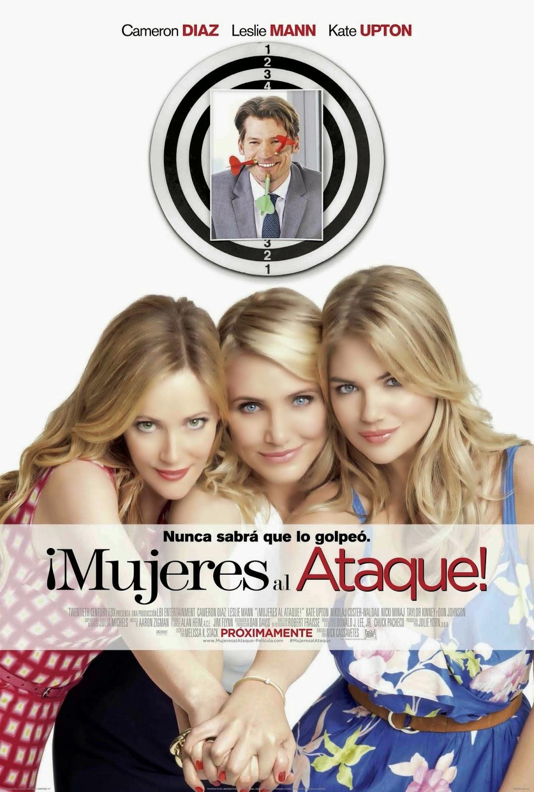 Mujeres Al Ataque BRRip 720p Latino (2014)