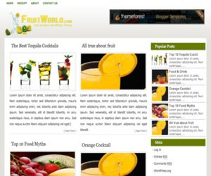 Fruit WordPress Theme