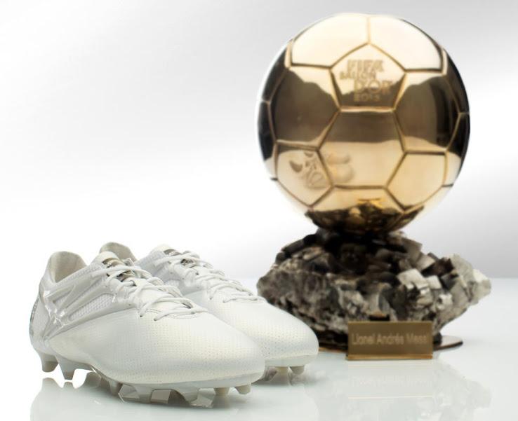 Los botines adidas de Messi por su quinto Balón de Oro