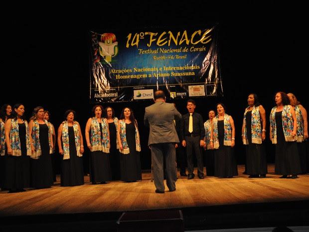 15º Festival Nacional de Corais no Teatro Luiz Mendonça
