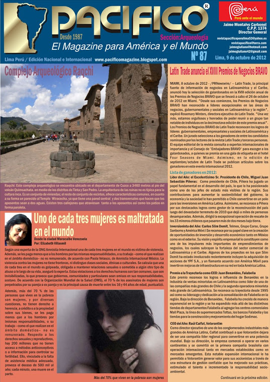 Revista Pacífico Nº 87 Arqueología