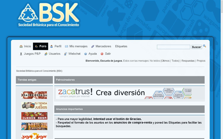 Consejos para descubrir y aprovechar los recursos más útiles que ofrece LaBSK el mayor foro sobre juegos de mesa en castellano