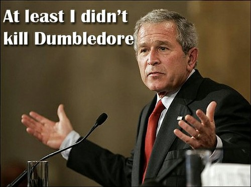 Bush - At Least I Don't Kill Dumbledore