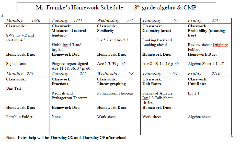 7th And 8th Grade Math Formula Sheet - math 8 homework help encyclopediapythagoras theorem ...