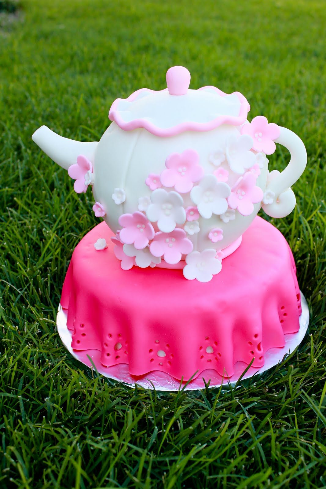 Reese S Pieces And Me Teapot Cake