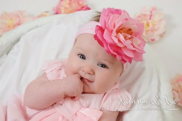 Joli petit bébé mignon fille