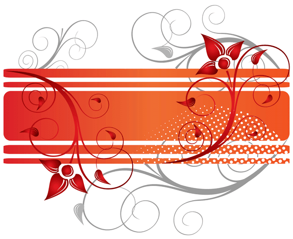 Graphic Vector Collection Floral Design