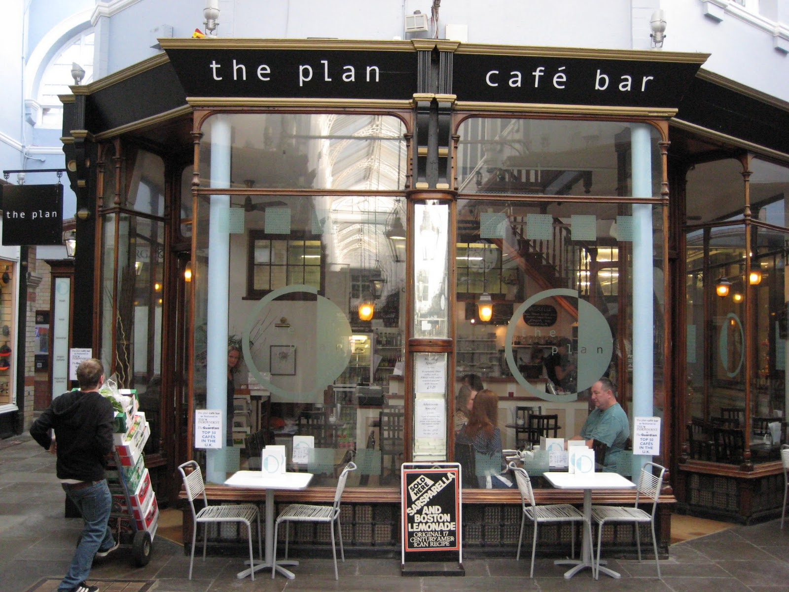 Gourmetgorro the plan coffee shop cardiff review for The house plan shop