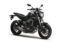 Yamaha MT-09 black