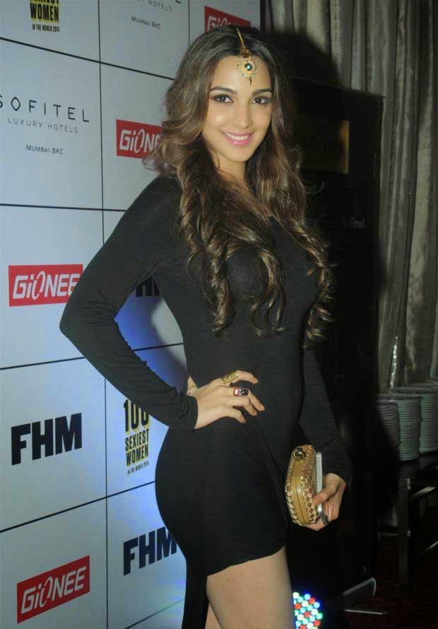 Kiara Advani at Gionee FHM 100 Sexiest Women in the World 2014 Party