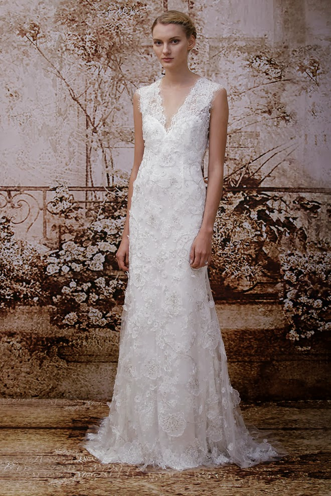 Monique Lhuillier Fall 2014 Bridal Collection San Diego Wedding Officiant