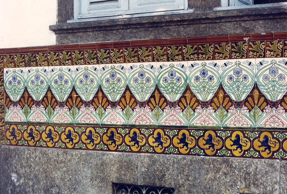 Azulejos Antigos No Rio De Janeiro Cidade Nova Iv Rua