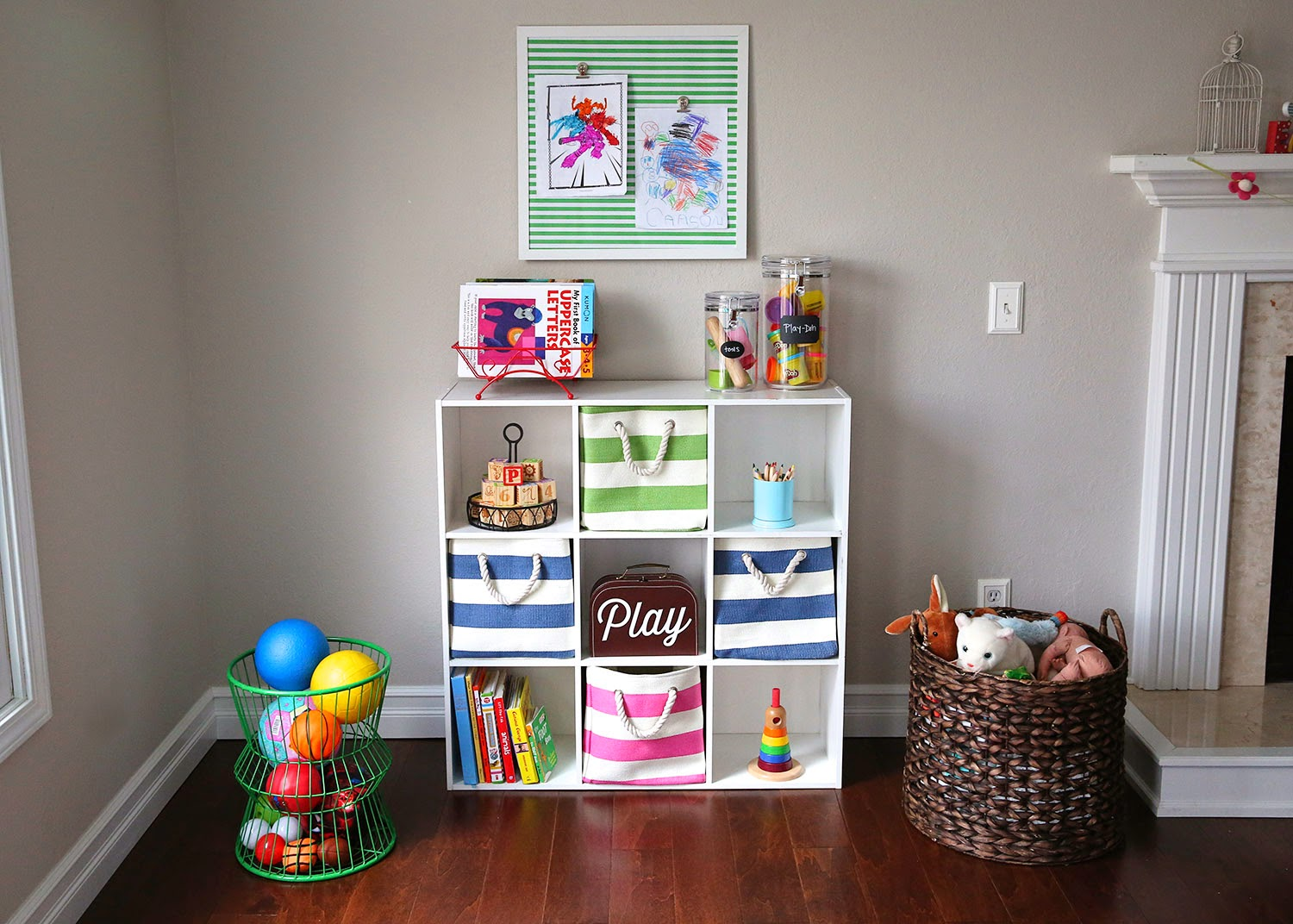 Toys Storage Ideas For Boys : Home made modern toy storage ideas