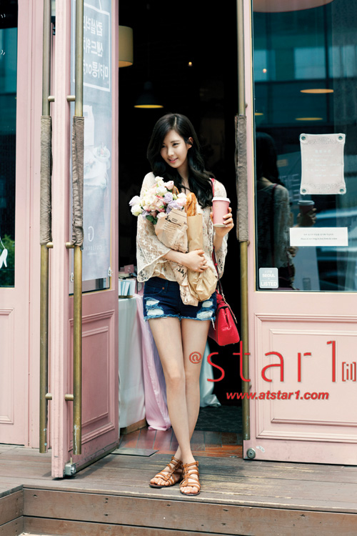 Foto Cantik SeoHyun SNSD dalam Majalah @Star1