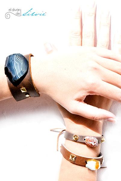 pulseras con tachuelas