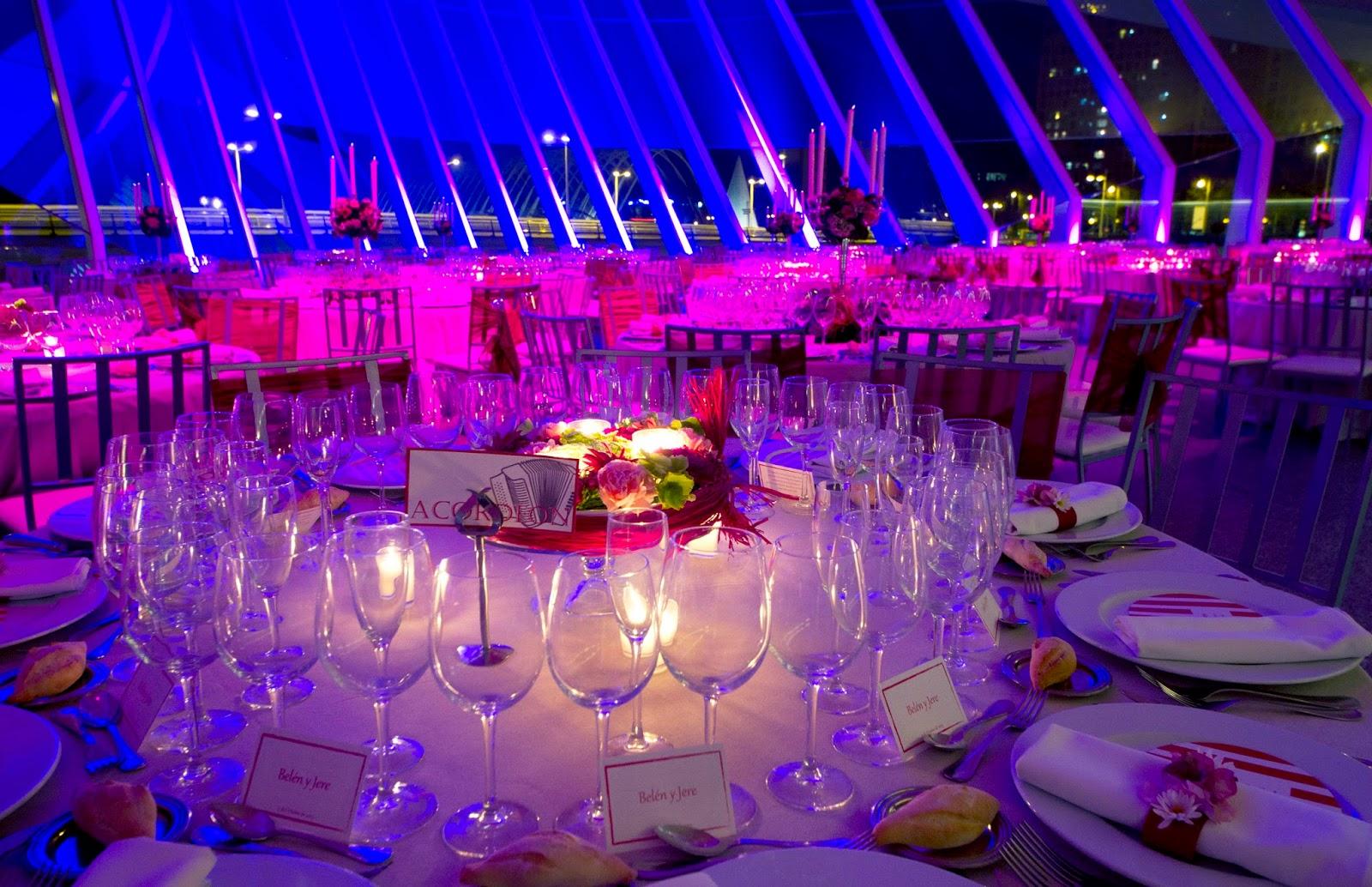Ideas centros  bodas Valencia