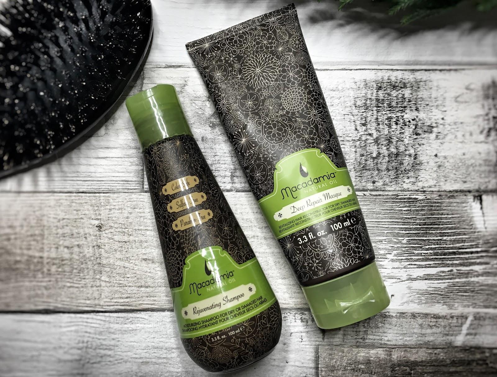 HIT CZY KIT? Maska i szampon Macadamia Oil