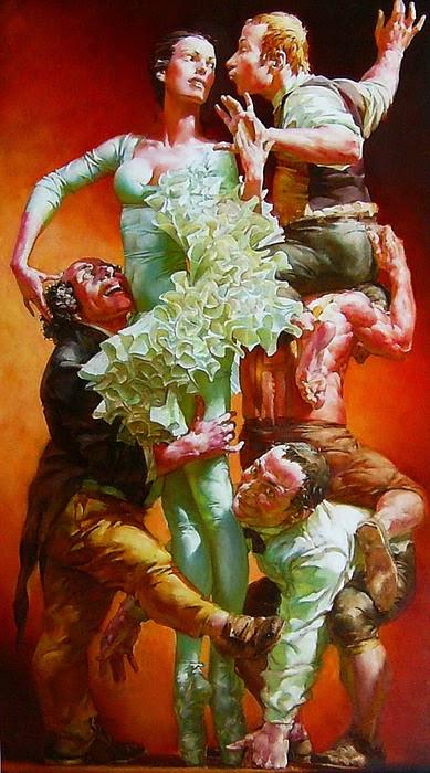 retratos-de-mujeres-bailando-pinturas