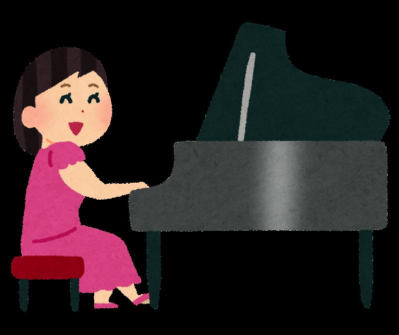 ピアニストのイラスト | かわいいフリー素材集 いらすとや