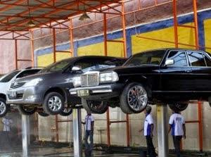 Konsep bisnis cuci mobil modal kecil