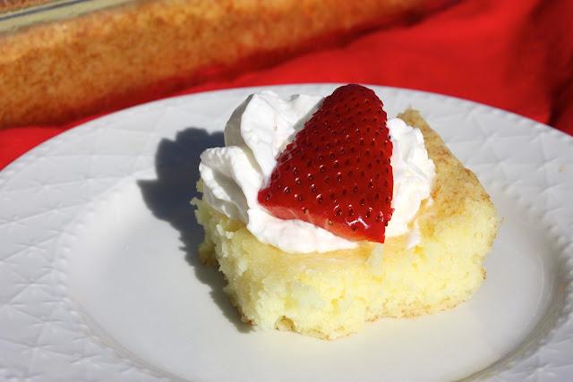 2 Ingredient Lemon Cake/Bars