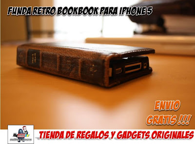 funda con forma de libro iPhone