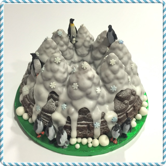 Penguin Bundt Cake