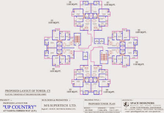Up Country, Yamuna Expressway :: Floor Plans,Tower Plans:-TOWER C5