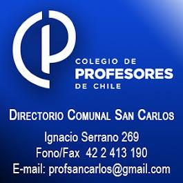 Profesores Comunal San Carlos