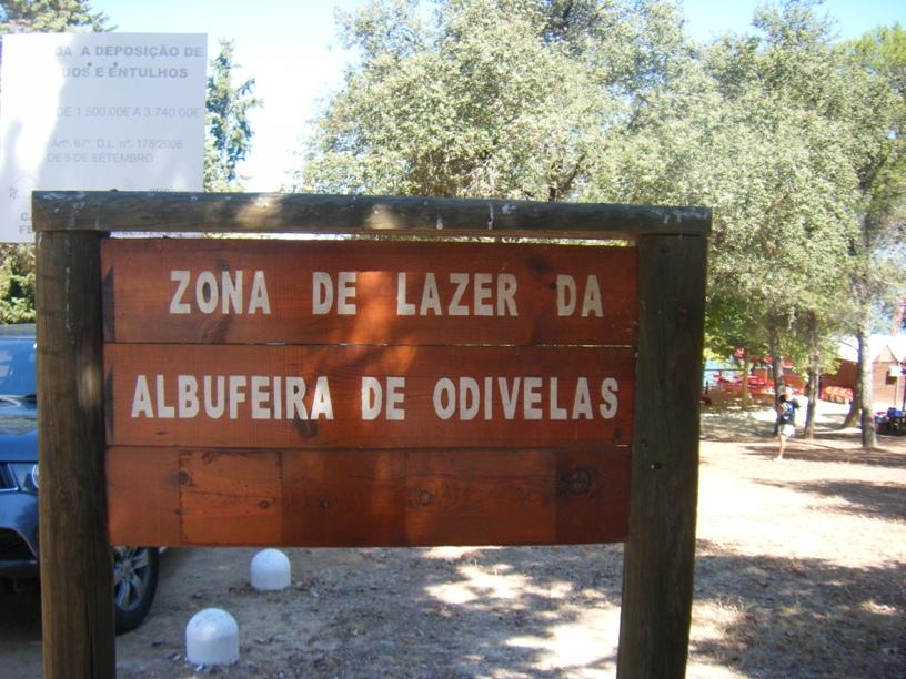 Zona de Lazer da Albufeira de Odivelas