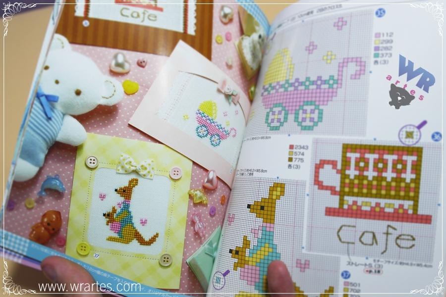 Revista ponto cruz japonesa