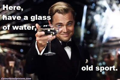 Leonardo DiCaprio Great Gatsby old sport meme