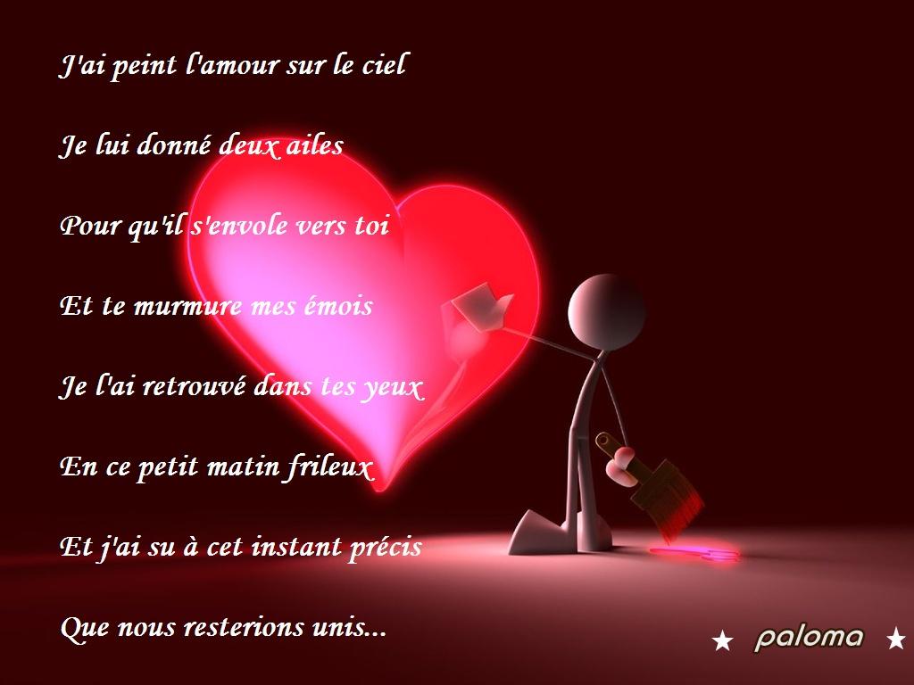 Jolies paroles d 39 amour sms et mots d 39 amour - Image d amour gratuite ...
