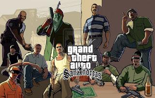 Cheat Password GTA San Andreas PS2 Lengkap 2014