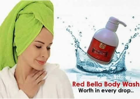 RED BELLA BODY WASH KURUS MASA MANDI