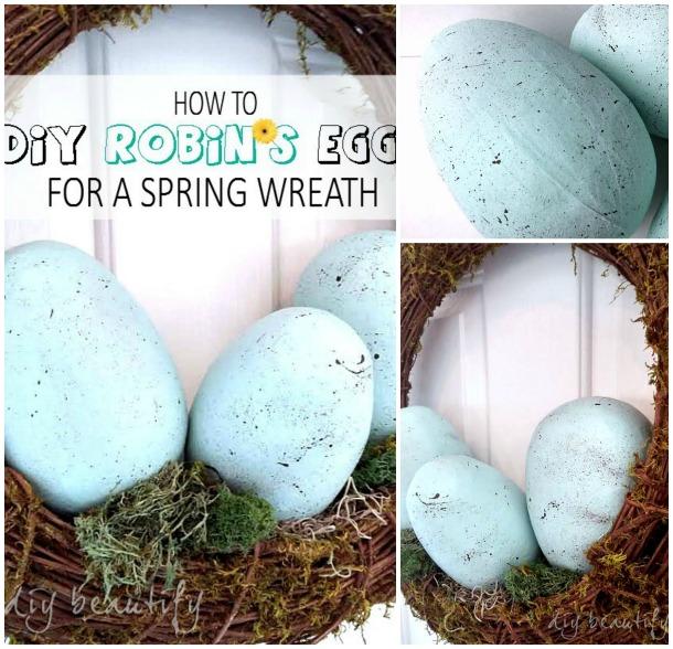 robins eggs tutorial DIY beautify