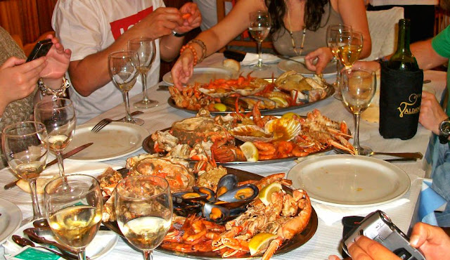 Portonovo Galicia Rías Baixas marisco restaurante