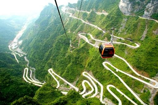 Flies in your Teeth: I want to ride this road in China!