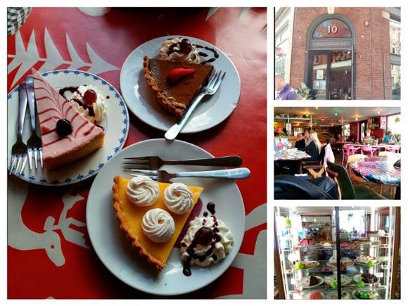 zoete bloggers in Amsterdam taart van mijn tante