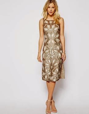 Gold ASOS Dress: Affordable Wedding Dresses - Gold