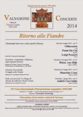 Concerti a Valvasone 1974-2014