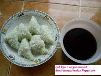 Kuih Lopes + Air Gula Merah