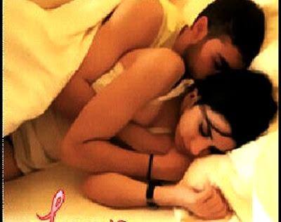 Foto Nikita Willy dan Diego Michiels Tidur | Foto tidur nikita dan diego