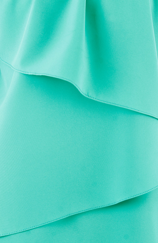 Sugar Cascade Top – Brilliant Turquoise