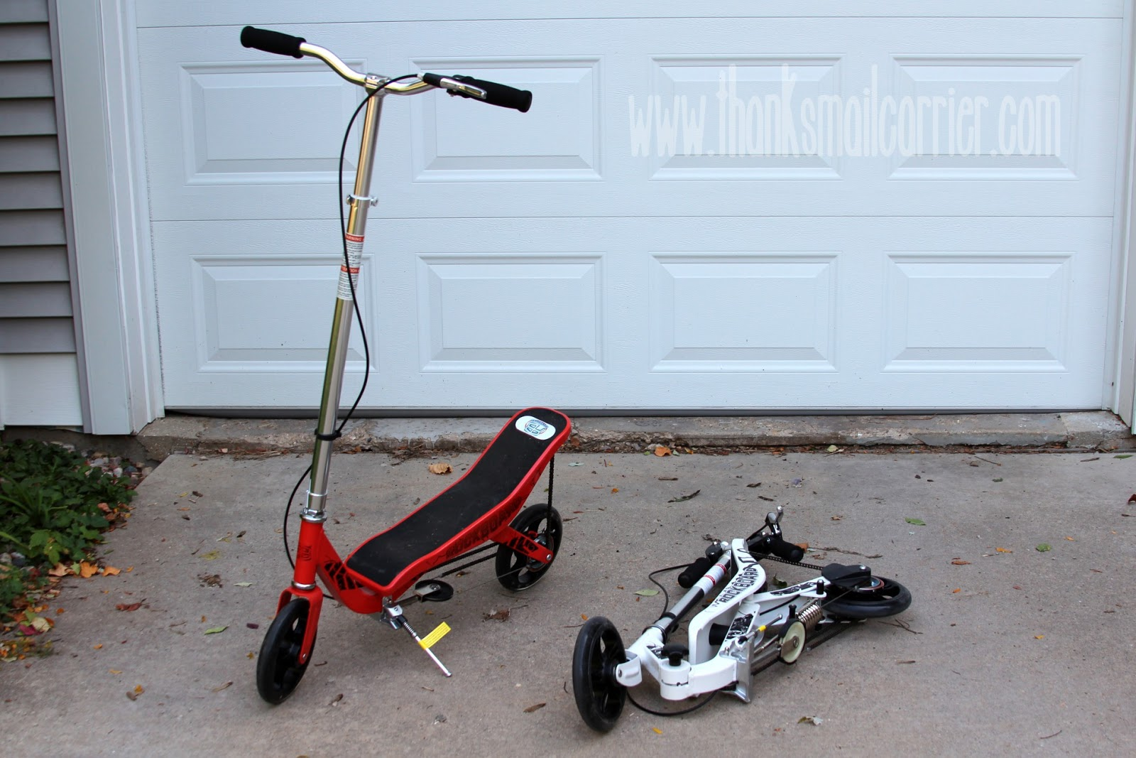Rockboard Scooter storage
