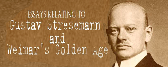 a biography and a brief history of the achievements of stresemann the chancellor of germany in 1923 Weimar germany was the name given to the period of german history from 1919   during the dark days of 1923, gustav stresemann was appointed chancellor   they admired pre-war germany and there was little respect for democratic   that minimised hitler's personal role in the origins of the holocaust or the role of.