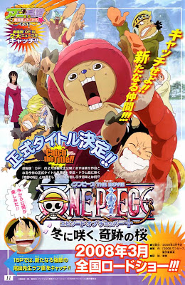 Cover Info Film Episode of Chopper Plus Bloom in Winter, Miracle Sakura