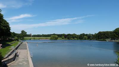 Freibad Hamburg, See, Stadtpark
