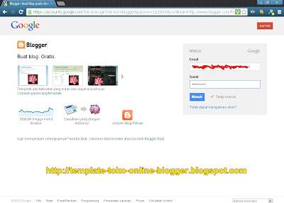 Cara Membuat Blog Di Blogspot Tampilan Terbaru